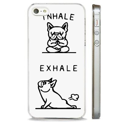 FUNNY FRENCH BULLDOG Quotes Joke CLEAR PHONE CASE COVER fits ...