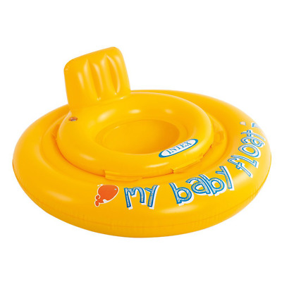 Intex Baby Toddler Swimming Swim Seat Ring Inflatable Pool Aid Trainer Float