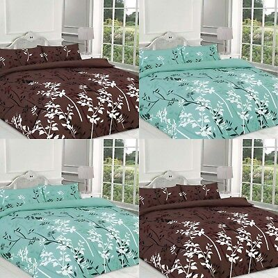 Printed Duvet Cover Set With Pillow case Size Single Double King Super Kaylee