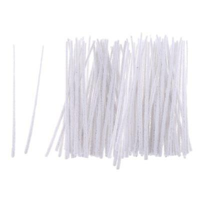 100pc Cotton Tobacco Smoking Pipe Cleaning Tool Smoke Pipe Cleaner Accessory