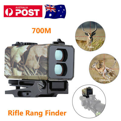Tactical Hunting 700m Range Finder Golf Telescope Laser Sight Riflescope Speed
