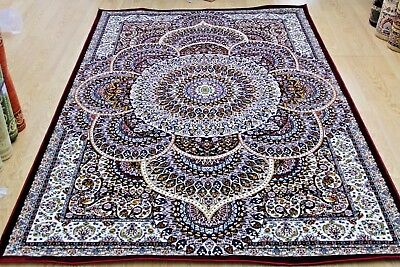 Small Medium Extra Large Rug Designer Carpet Traditional Pattern New Soft Rugs