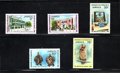 Jamaica 1980 Centenary of Institute of Jamaica SG 493/7 MUH