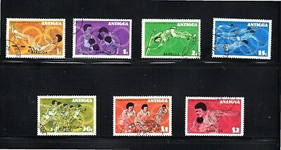 Barbuda  1976 Olympic Games Montreal SG 286/92 Fine Used
