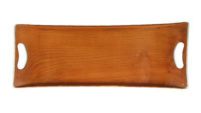 A vintage elm tray Midcentury 1950's - 1970's
