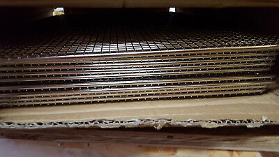 """New 11 Browne Donut Frying Glazing Rack Wire Mesh Screens 17"""" by 25"""" DS1725"""
