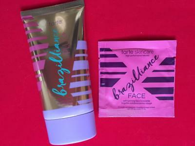 TARTE Brazilliance Plus Self Tanner 1.7oz/50mL + Bonus Sample - NEW, FREE SHIP!