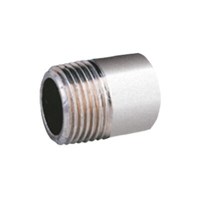 "STAINLESS STEEL 316 BSP WELD NIPPLE - 1/8"" To 4""  -  RATED 150lb"