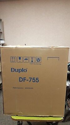 Duplo Df-755 Automatic Paper Letter Folding Folder Machine With Manual.     Nib