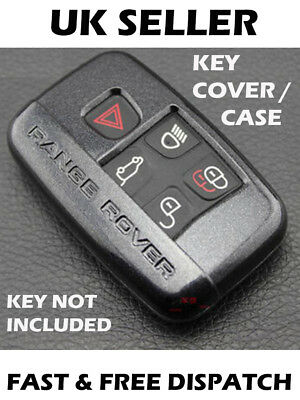 Range Rover Land Rover Car Key Fob Remote Cover Shell Case Protector Black Gloss