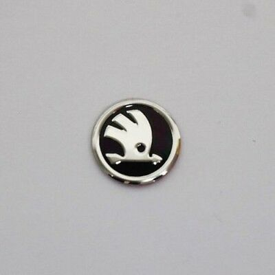 Brand New Skoda Key Fob Badge, Superb, Octavia, Emblem Sticker *UK SELLER*