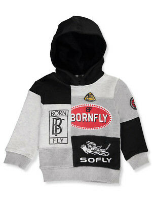 Born Fly Little Boys' Toddler Hoodie (Sizes 2T - 4T)