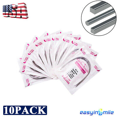 EASYINSMILE Dental Orthodontic Braces Teeth Wire NITI Arch Wires High Quality