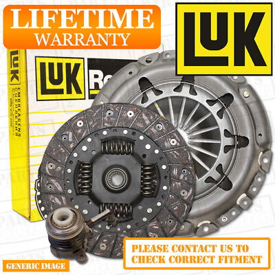 SAAB 9-3 93 2.0 T Clutch Kit 3pc 210 09/02- FWD 6 Speed Saloon B207R
