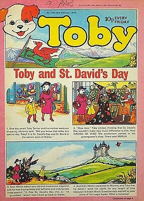 TOBY & SEE-SAW - 25th FEB 1978 (24 Feb - 2 March) RARE 40th BIRTHDAY GIFT !! VG+