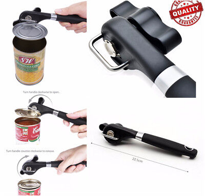 Commercial Swing-A-Way Ergonomic Easy Crank Can Opener No Sharp Cuts Can Opener