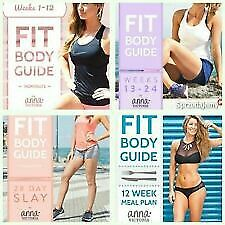ANNA VICTORIA 6 GUIDES Fit Body Guide 1 2 28 Day Slay Meal Plan Lifting Round
