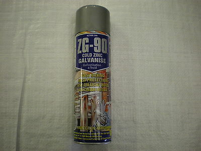 Action Can ZG-90 Cold Zinc Galvanize 500ml