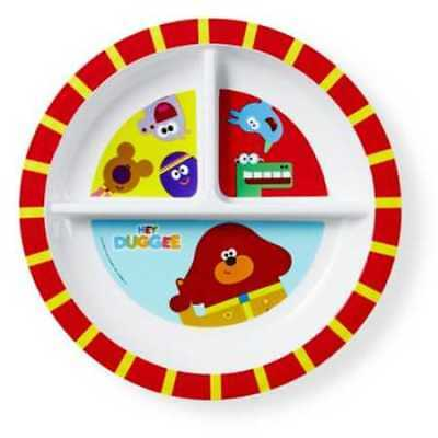Hey Duggee Kids Sectioned Plate