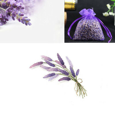 Real Lavender Organic Dried Flowers Sachets Bud Bloom Bags Scent Fragrance