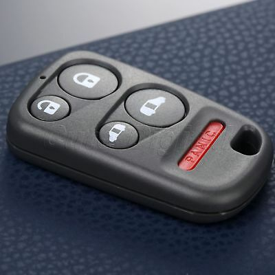 For Honda Odyssey 5 Button Replacement Remote Keyless Entry Key Fob Shell Case