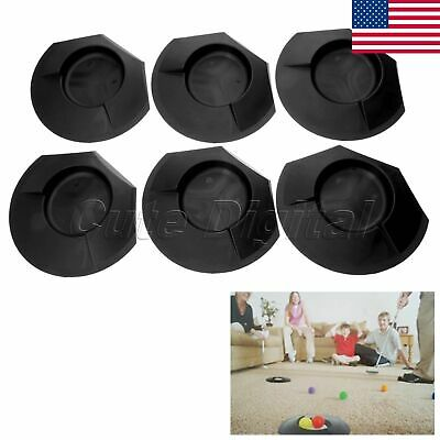6Pcs Plastic Golf Putting Cup Hole Indoor Outdoor Home Backyard Training Aids