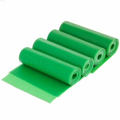 100X15cm Elastic Yoga Pilates Rubber Stretch Resistance Exercise Fitness Band HQ
