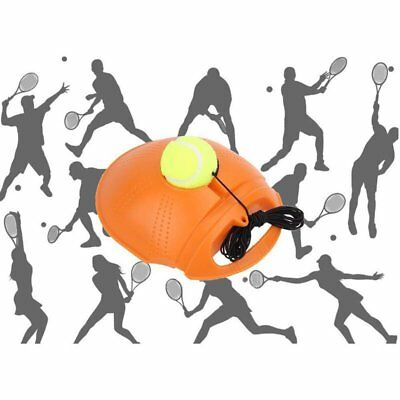 Tennis Tools Singles Trainer Exercise Tennis Ball Self-study Rebound Base Board