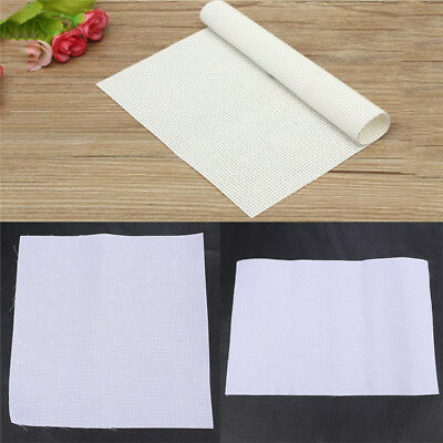 White Cotton 11CT Aida Cross Stitch Cloth Womens Handcraft Making Accessories