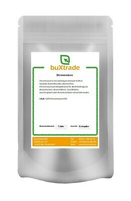 2 kg CITRIC ACID Food Quality E330, Bio, Descaler, Cleaner