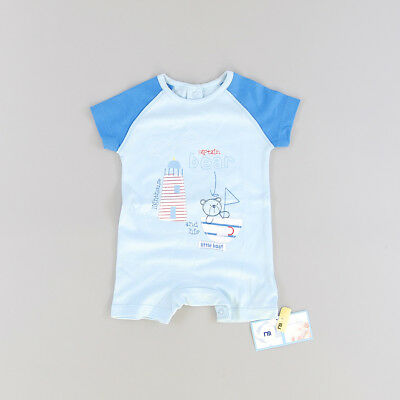 Pelele color Azul marca Mothercare 0 Meses