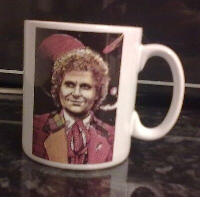 6th Doctor Who – Colin Baker – Official 30th Anniversary Mug. RARE.