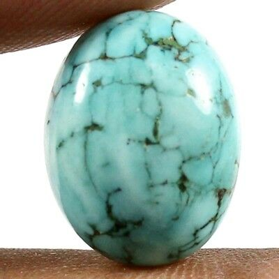 9.50ct Natural Excellent Quality Turquoise Oval Loose Cabochon Gemstone Jewelry
