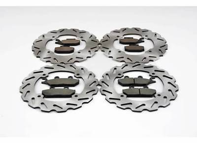 2014-16 Can-Am Commander Max 1000 4x4 XT Front & Rear Sport Brake Rotors & Pads