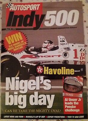 1994 Indy 500 Preview, Autosport Special. Mansell's big day