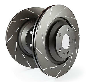 EBC Ultimax Rear Solid Brake Discs Volvo V70 Mk3 3.0 Twin Turbo (T6) (2007 > 17)