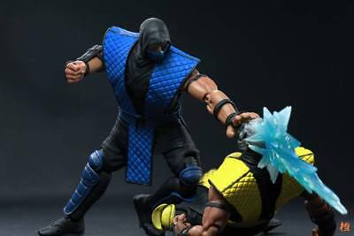 SC Mortal Kombat 1:12 Action Figures Scorpion/Sub Zero/Reptile