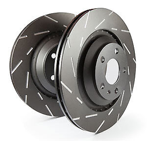 EBC Ultimax Front Vented Brake Discs Smart Fortwo 0.9 Turbo (89 BHP) (2014 on)