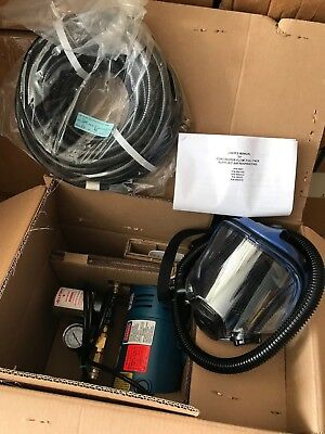 ONE(1) NEW ALLEGRO 9200-01 Supplied Air Pump Package Single Person ¼ HP 50' Hose