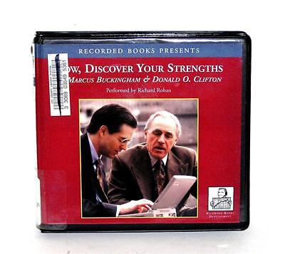 BOOK/AUDIOBOOK CD Marcus Buckingham/David Clifton NOW, DISCOVER YOUR STRENGTHS