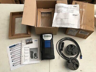 ONE (1) NEW Drager Draeger CMS Permissible Gas Analyzer w/ Remote 8317700