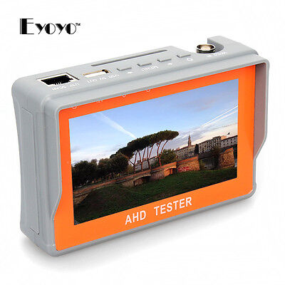 "Wrist 4.3""1080P AHD CCTV Camera Cam Test Display Monitor Tester  Monitor BNC"