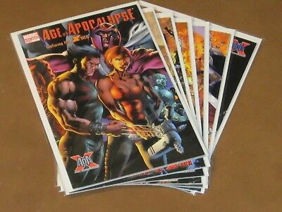 Age Of Apocalypse #1 - 6 + One-Shot Vf/nm Complete Series 10Th Anniversary Blink