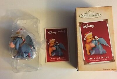 Hallmark WINGS FOR EEYORE 2004 Winnie the Pooh Disney ORNAMENT
