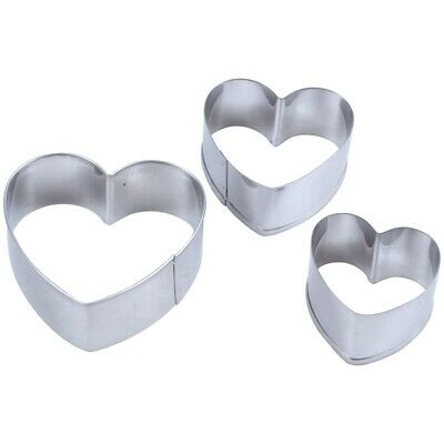 Hang Off Cup Star Heart Strawberry Fruit Baking Fondant Cookie Cutter 3pc//Set