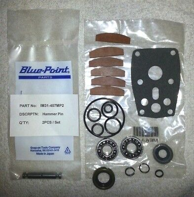 Snap On Im31 Tune Up Kit With Bearings + Snap On Im31 407Mp2 Hammer Pin Set