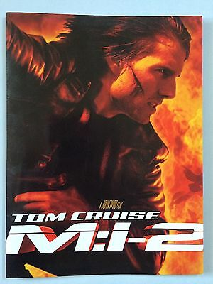 Mission Impossible Ii Press Kit W/full-Colour Handbook & 12 B&w Photo Prints