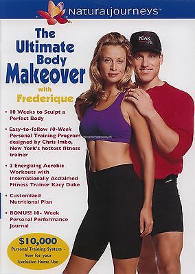 THE ULTIMATE BODY MAKEOVER WITH FREDERIQUE ~ DVD new
