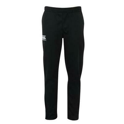 Canterbury Kids Stretch Tapered Poly Knit Pants - Black