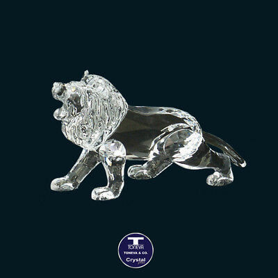 "[SPECIAL OFFER] ""Roaring Lion"" Austrian Crystal Figurine was AU$158.00"